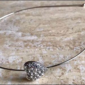 Accessories - Headband silver made w Swarovski elements